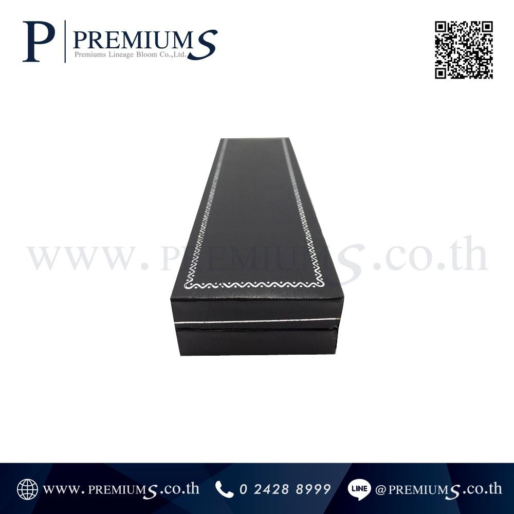 กล่องปากกาหนัง พรีเมี่ยม รุ่น BOX-101 | กล่องหนังสีดำ ทรงสี่เหลี่ยม ภาพที่ 6