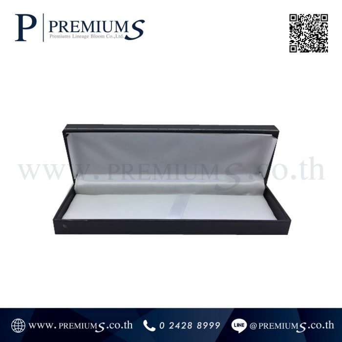 กล่องปากกาหนัง พรีเมี่ยม รุ่น BOX-101 | กล่องหนังสีดำ ทรงสี่เหลี่ยม ภาพที่ 4
