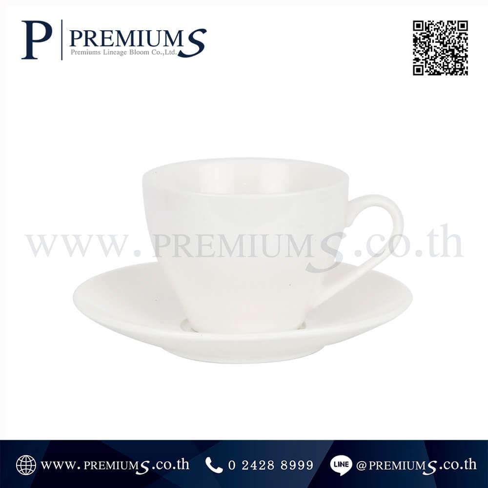 ชุดแก้วกาแฟ พร้อมจานรองทรงกลม รุ่นSET-CM-09 ภาพที่ 01
