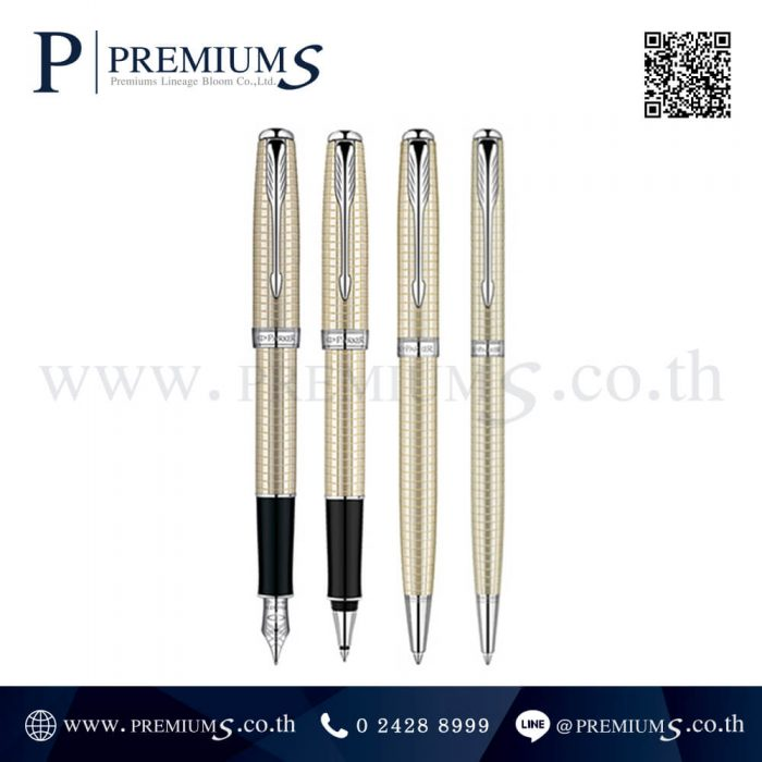 ปากกา PARKER รุ่น SONNET 10 SILVER CT