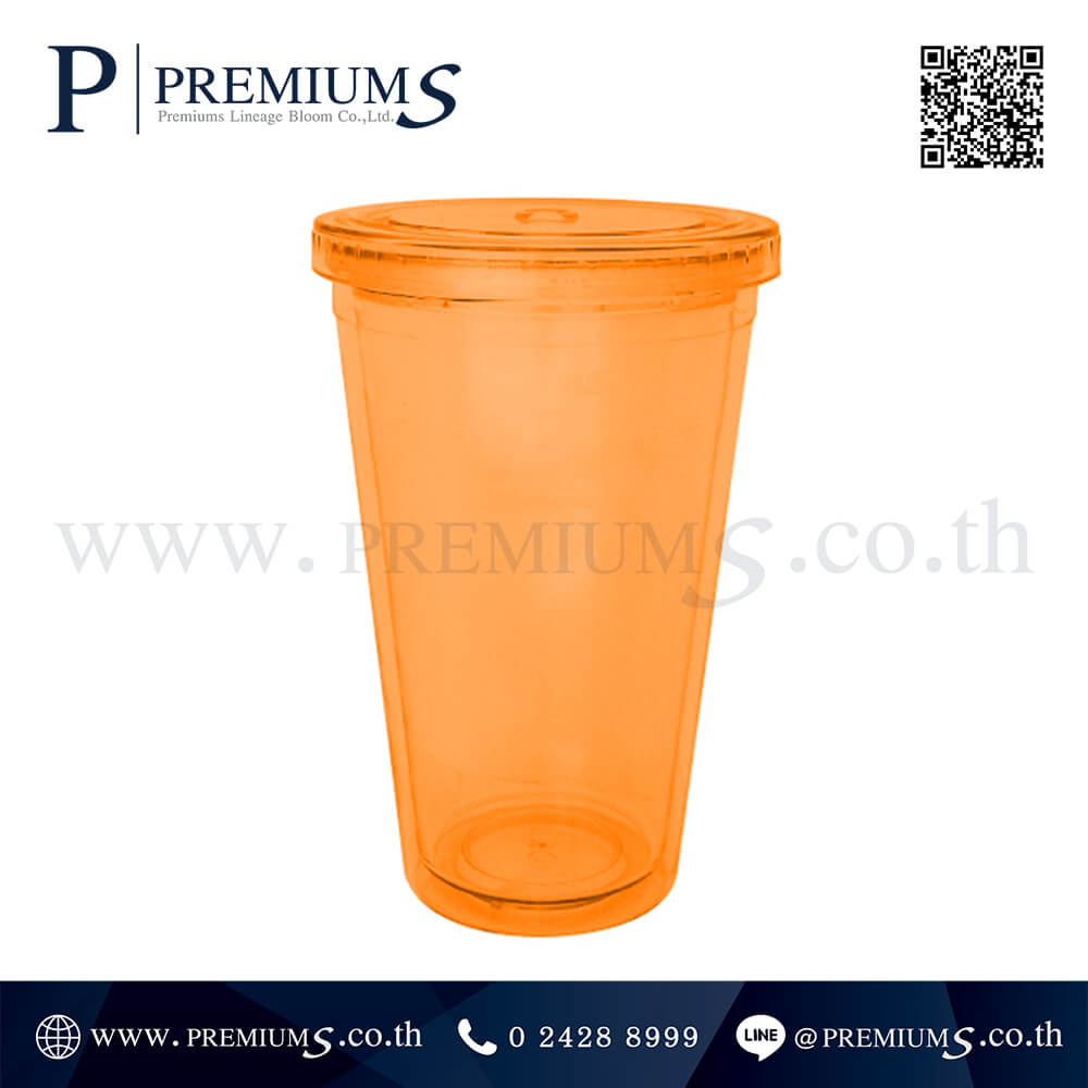 แก้วน้ำพลาสติก พรีเมี่ยม มีหลอด รุ่น MMG-8 ภาพที่ 04