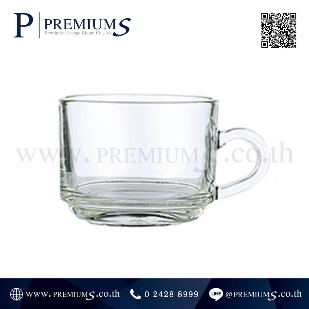 แก้วเป๊ก แก้วใสพรีเมี่ยม รุ่น LG-118 ความจุ7 Oz สามารถใส่น้ำร้อน - น้ำเย็นได้