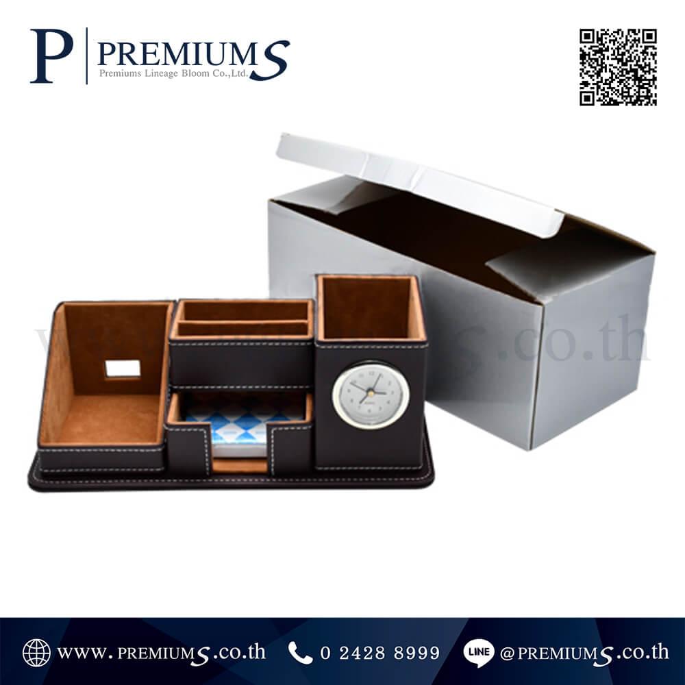 นาฬิกาตั้งโต๊ะ พรีเมี่ยม รุ่น CL- 6444 | กล่องใส่ปากกา พร้อมนาฬิกา ภาพที่ 04