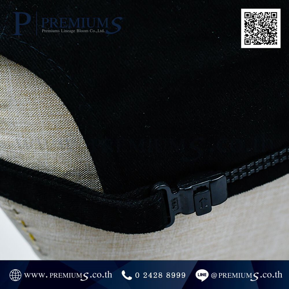 หมวกแก๊ปพรีเมี่ยม ปักโลโก้ (แบบเรียบ) RK Takasago Chain ภาพที่ 06