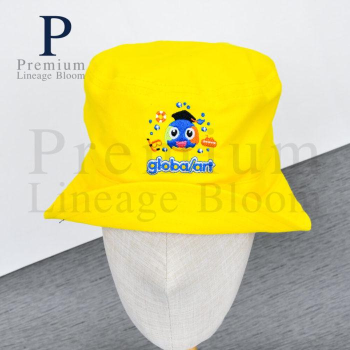 หมวกบักเก็ท โลโก้ globalart - 2