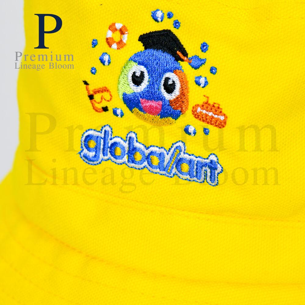 หมวกบักเก็ท โลโก้ globalart - 7