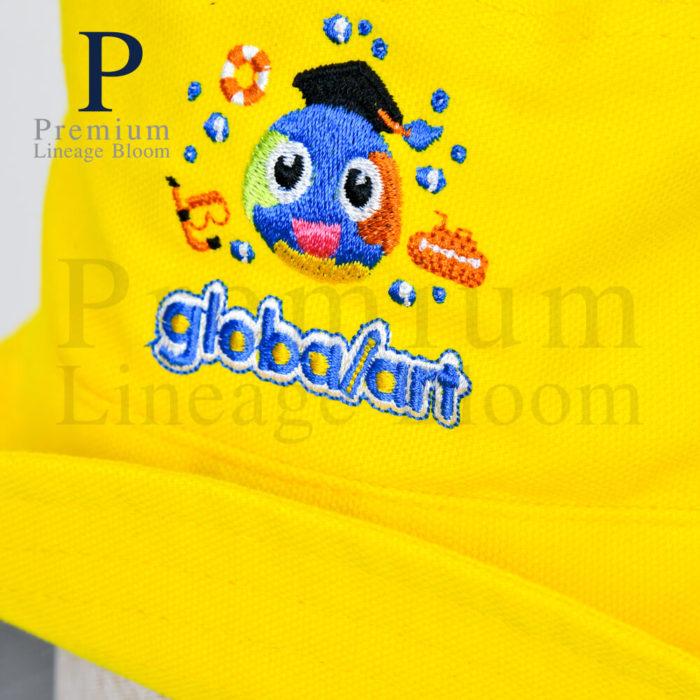 หมวกบักเก็ท โลโก้ globalart - 8