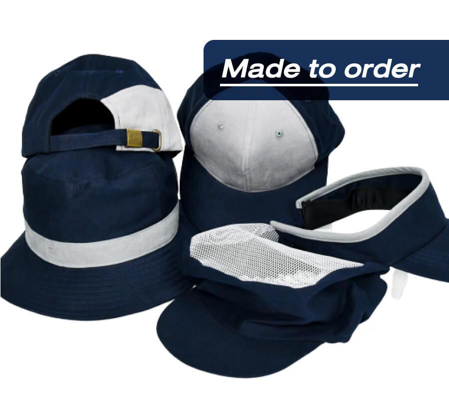 หมวกสั่งผลิต