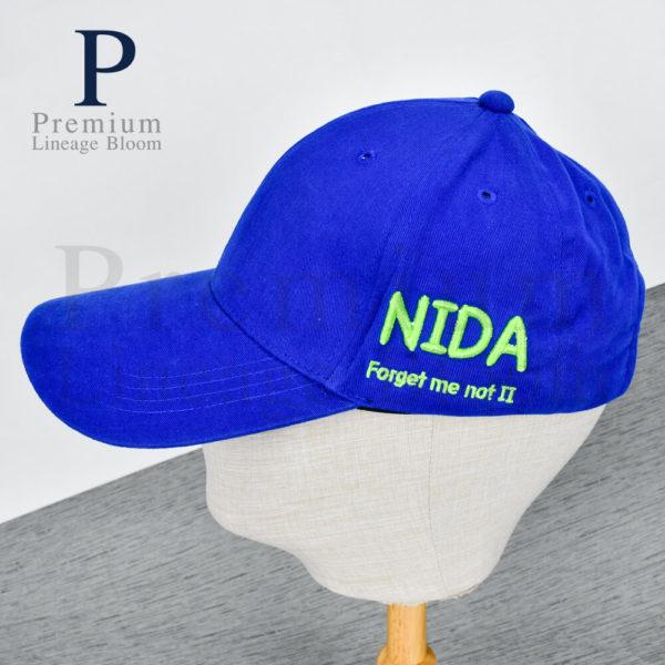 ของพรีเมี่ยม หมวกแก๊ป ปักโลโก้ นิด้า (NIDA)