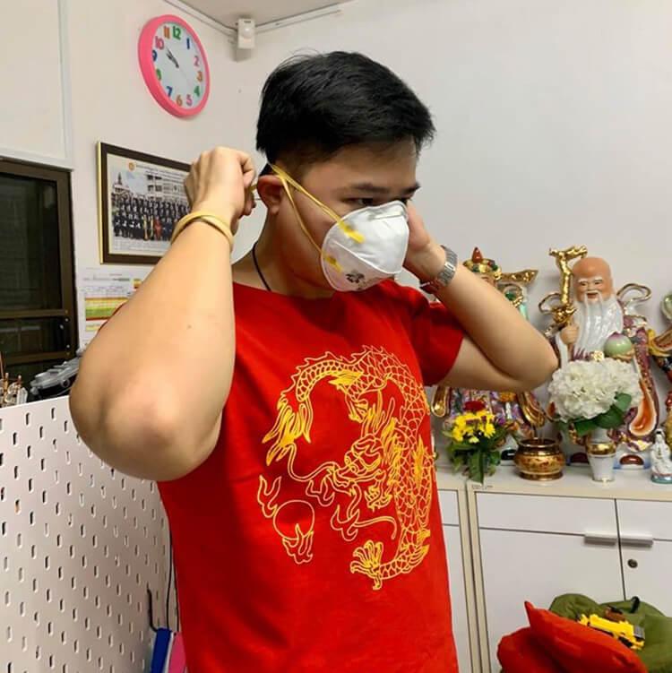 """น้องอาร์ม มาให้ความรู้เกี่ยวกับเรื่อง """"ฝุ่น PM 2.5 และ เชื่อไวรัสโคโรนา"""" ภาพที่ 2"""