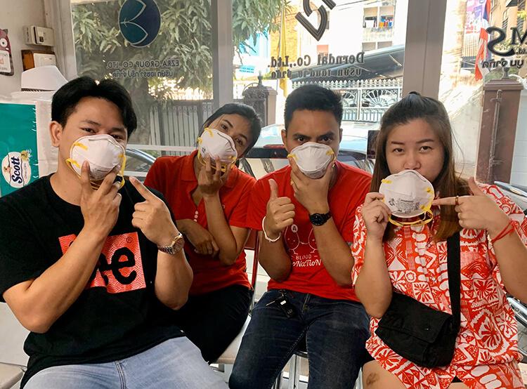 """น้องอาร์ม มาให้ความรู้เกี่ยวกับเรื่อง """"ฝุ่น PM 2.5 และ เชื่อไวรัสโคโรนา"""" ภาพที่ 4"""