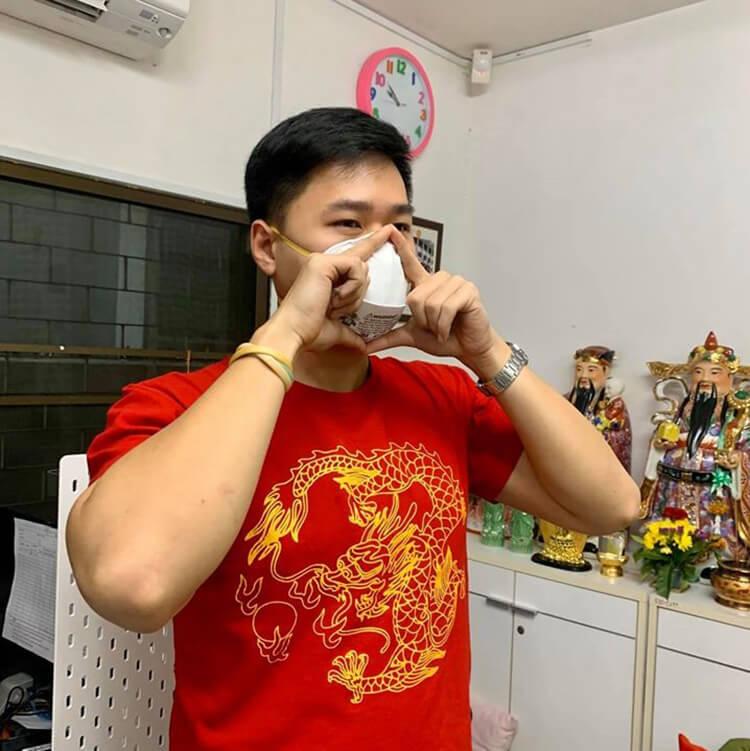"""น้องอาร์ม มาให้ความรู้เกี่ยวกับเรื่อง """"ฝุ่น PM 2.5 และ เชื่อไวรัสโคโรนา"""" ภาพที่ 3"""