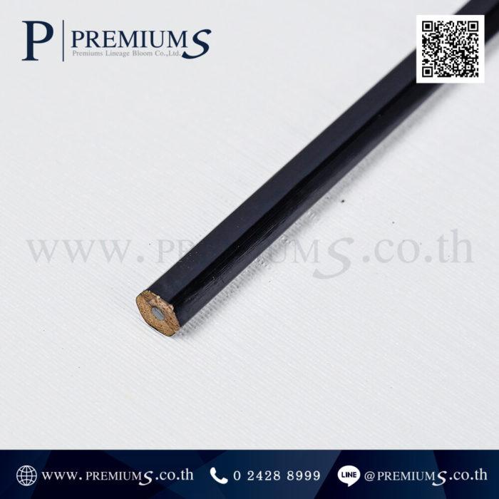 4658 ดินสอไม้ ทรงหกเหลี่ยม สีดำ Juslaws & Consult + Aom-2