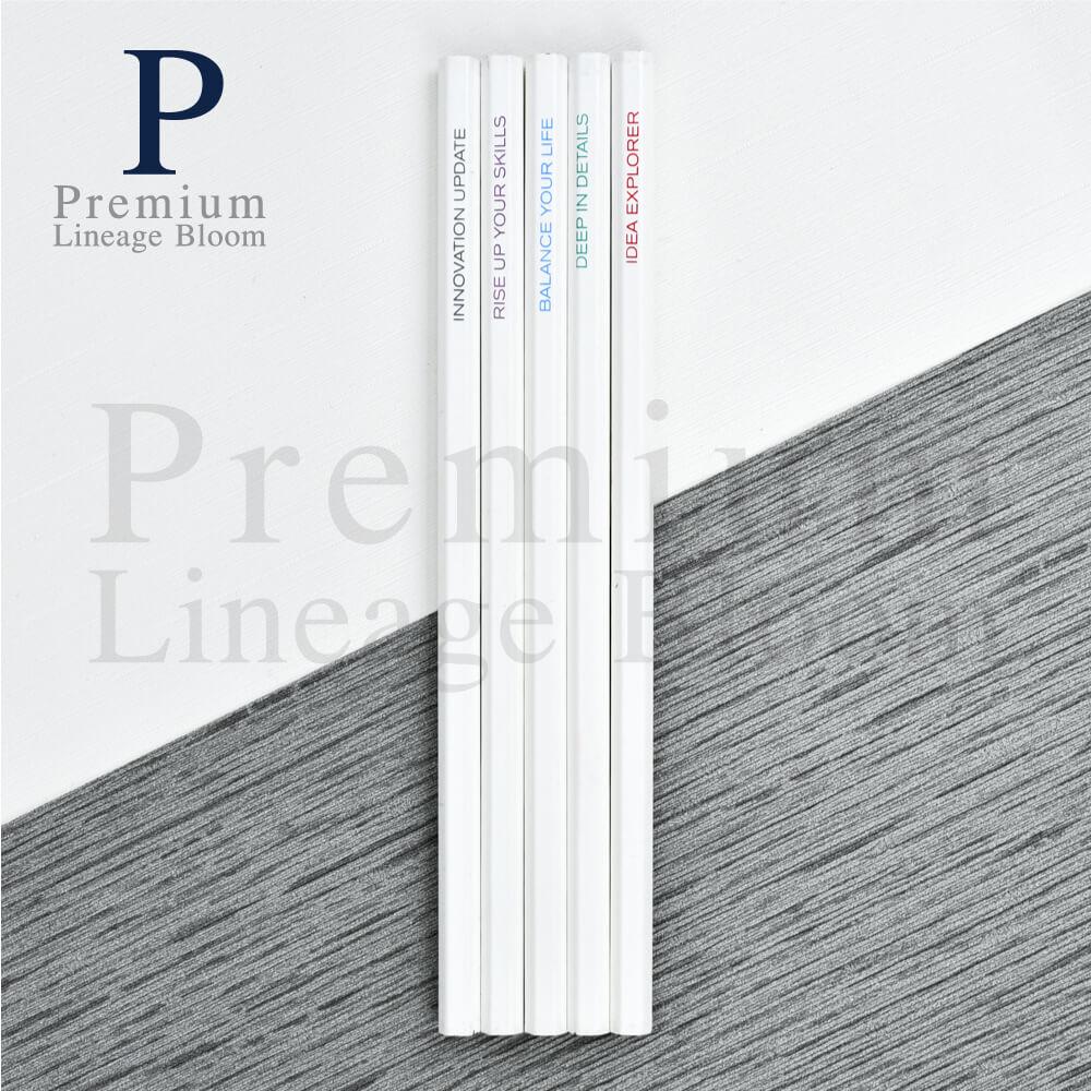 ตัวอย่างผลงานดินสอไม้ พร้อมส่ง 2-1